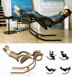 Gravity balance chair more: http://offsomedesign.com/home-gadgets-for-gifts/