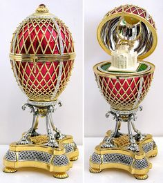 Top Toys - Great Gifts Faberge Imperial Elegance Porcelain Barbie Doll and Eggs Limited Editions Fabrege Eggs, Objets Antiques, Art Nouveau, Art Deco, Faberge Jewelry, Egg Art, Top Toys, Russian Art, Ideas