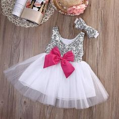 Cheap girls princess, Buy Quality girls princess dress directly from China princess dress Suppliers: Baby Kids Girls Princess Dress Sequined Wedding Gown Party Pageant Princess Dresses Tutu Tulle Dresses Headwear Outfits Baby Girl Party Dresses, Girls Tutu Dresses, Tutus For Girls, Kids Outfits Girls, Little Girl Dresses, Girl Outfits, Flower Girl Dresses, Kids Girls, Princess Dresses