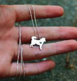 The Siberian Husky possesses tremendous strength, energy, endurance, independence, and intelligence. By wearing this necklace you can be with your best friend all day long.