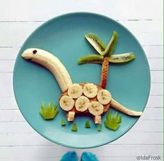 Healthy Snacks For Kids colorful healthy snacks, food art for kids - Creative food decoration ideas are great for kids and adults Toddler Meals, Kids Meals, Toddler Food, Easy Meals, Food Art For Kids, Food Humor, Breakfast For Kids, School Breakfast, Breakfast Recipes