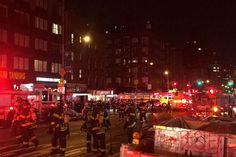 #ManhattanExplosion Uma forte explosão foi sentida, este sábado à noite no bairro de Chelsea, na zona oeste de Manhattan, em Nova Iorque. Há registo de 25 pessoas atingidas, revelam os bombeiros da cidade.