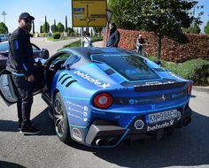 @jcartu with his own Ferrari F12 TDF one of 799 #ferrarif12 #ferrari#ferrarif12tdf#gumball3000 #gumball #europapark #Europaparkrust #freiburg #joshcartu #teamwolfpack@teamwolfpack3000 #lamborghini #lambo#germany#autobahn#german#bugatti#bugattichiron #gumballarmy by supercars_of_germany_jh