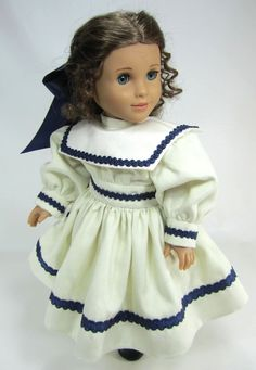 18 Inch Doll Clothes for American Girl Dolls - A Victorian Sailor ...