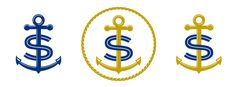 Nautical_anchor_monogram.gif 640×237 pixels Anchor Monogram, Nautical Anchor, Boats, Symbols, Art, Art Background, Ships, Kunst, Performing Arts