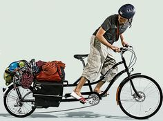 Xtracycle Cargo Bike « Columbus Underground Messageboard