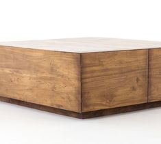 Solidly built using recycled lumber, the Parkview Reclaimed Wood Coffee Table combines rustic appeal with a clean, contemporary design. With a spacious drawer on one side, it's a versatile table that stows everything from pillows to remotes, and i… Coffee Jars, Coffee Tables, Coffee Coffee, Black Coffee, Coffee Shop, Coffee Table With Drawers, Reclaimed Wood Coffee Table, Coffee Table Wayfair, Coffee Table Design
