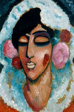mujer española con los ojos cerrados