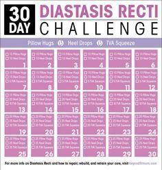 Exercises to Repair Diastasis Recti   How to Heal Diastasis Recti