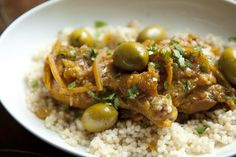 Braised Moroccan Chicken and Olives  recipe on Food52