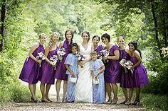 purple bridesmaids #purple #wedding #bridesmaids