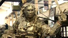 The statue of Juana Azurdy is a gift from Bolivia to Argentina. | Photo: telam teleSUR - July 15 2015 Bolivian President Evo Morales' visit to his Argentina counterpart Cristina Fernandez Wednesday...