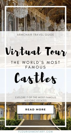 Virtual Tour Of The Most Famous Castles On Earth - Trend Lego Train 2020 Beautiful Castles, Beautiful Sites, Virtual Museum Tours, Virtual Field Trips, Virtual Travel, Famous Castles, Home Schooling, Staycation, Just In Case