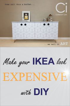 """Create-ist is your solution to customising IKEA* furniture. Our DIY products will help express your personal style at home, through giving each individual piece its own identity. We design and produce self-adhesive vinyl coverings to revamp your IKEA*, both new and old. This is known as """"IKEA hacks"""". Our tailored skins offer an exact fit, making DIY a breeze. Other furniture or items can be treated too, as we also provide custom-sized pieces"""
