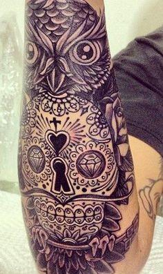 #ink #tattoo #owl