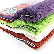 cozinha limpeza têxtil água pano de pano de sucção (cor aleatória)