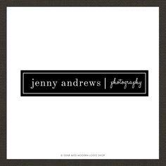 Image of Jenny Logo Web Design, Logo Design, Graphic Design, Logo Branding, Logos, Modern Shop, Modern Logo, Personal Branding, Typography Design