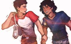Dante and Ari by EnotRobin.deviantart.com on @DeviantArt