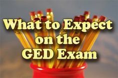 High school equivalency diploma tasc ged pinterest high what to expect on the ged exam fandeluxe Image collections