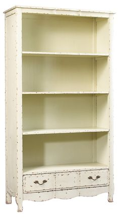 One Kings Lane - French Heritage - Bosquet Open Bookcase