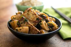 Recipe: Stir-Fried Baby Turnips With Spring Onions, Green Garlic and Tofu || Photo: Andrew Scrivani for The New York Times