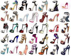 shoes design app_YOU ARE THE DESIGNER_sandals & open toe shoes