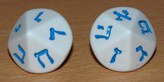 El Descanso del Escriba: Dados con números hebreos