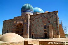 9-Mausoleum of Khoja Ahmed Yasawi - South Province, Kazakhstan/ Unesco Word Heritage List