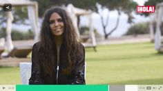 Spanis TV host Cristina Pedroche in Naughty Dog SS16 bomber jacket!