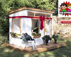 Building your little one a playhouse in the backyard will surely make them happy. There are a few things you should know before you build a playhouse for kids. Backyard Playhouse, Build A Playhouse, Kids Playhouse Plans, Backyard Plan, Backyard For Kids, Wood Pavilion, Picnic Table Plans, Gazebo Plans, Ideias Diy