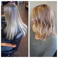 So excited about this change!!! #Poppysalon #shorthair #bob #boblife #lob #redken #redkensalon #wavesfordays #beforeandafter #transformation #behindthechair #modernsalon #americansalon #allaboutdahair #durham #durhamsalon #raleigh #chapelhill #hair #hairinspo #hairgoals #guytang #citiesbesthairartists #gethaird