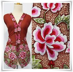 Cutwork Embroidery, Machine Embroidery, Kebaya, Indonesian Art, Cut Work, Summer Dresses, Formal Dresses, Embroidered Flowers, Fabric Patterns