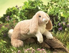 Floppy Bunny Rabbit Puppet at theBIGzoo.com, a family-owned gift shop with 12,000+ animal-themed items.