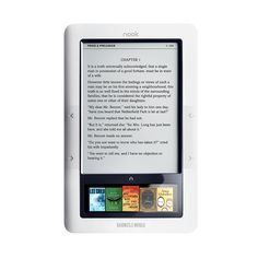 NOOK Wi-Fi by Barnes & Noble eBook Reader.....Nook, Kindle..Whatever, Santa i will take one pls. :-)
