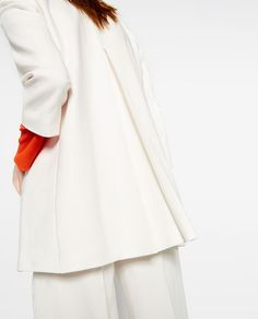 Image 6 of ROUND NECK FROCK COAT from Zara