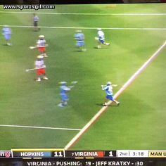 Johns Hopkins lacrosse pulls off the old hidden ball trick