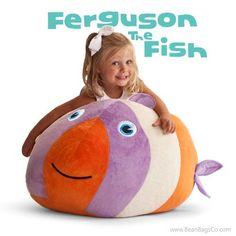 Comfort Research - Bean Bagimals  - Ferguson the Fish Bagimal | Sale: $54.99