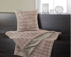 Picture of Taupe Fur Pillow