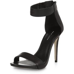 ed8c49aa4e5 Black Ankle Strap Platform Heels featuring polyvore