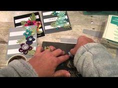 How to make GORGEOUS Botanical Gardens Cards - YouTube