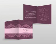#Einladungskarten #HappyBirthday #Karten #cards #Einladung #invitation #lila #rosa #pink