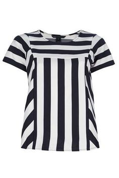 Marc By Marc Jacobs - White Striped Top - Lyst Blouse Styles, Blouse Designs, Fashion Wear, Fashion Outfits, Sewing Blouses, Western Tops, Blouse Models, Full Figure Fashion, Beautiful Blouses