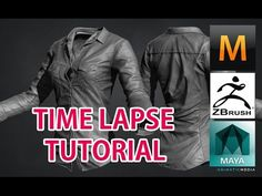 3D Modeling female Shirt time lapse (Zbrush + Marvelous Designer) - YouTube