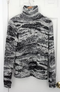 Raf Simons spacey knit