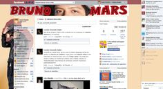 Theme for Facebook - Bruno Mars | Templah - Themes, Skins, Layouts and Templates