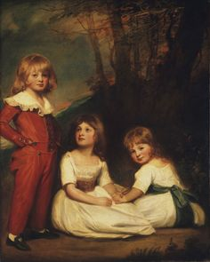 1789-1790 Philadelphia Museum of Art - Collections Object : Portrait of Mr. Adye's Children (The Willett Children)