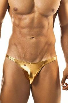 Joe Snyder Metallic Capri Bikini, Posing Slip Größe S M L XL in gold / rot / silber, ist ein idealer #Bodybuilder #Posing #Slip. Neu bei www.easyfunshop.net