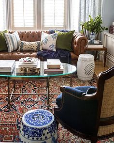 Eclectic Living Room, Boho Living Room, Rugs In Living Room, Living Room Designs, Living Room Furniture, Living Room Decor, Living Spaces, Bedroom Decor, Wall Decor