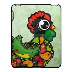 Portuguese Barcelos Rooster ipad case