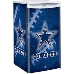 Dallas Cowboys Refrigerator NFL Licensed Mini Fridge w/ Official Team Logo